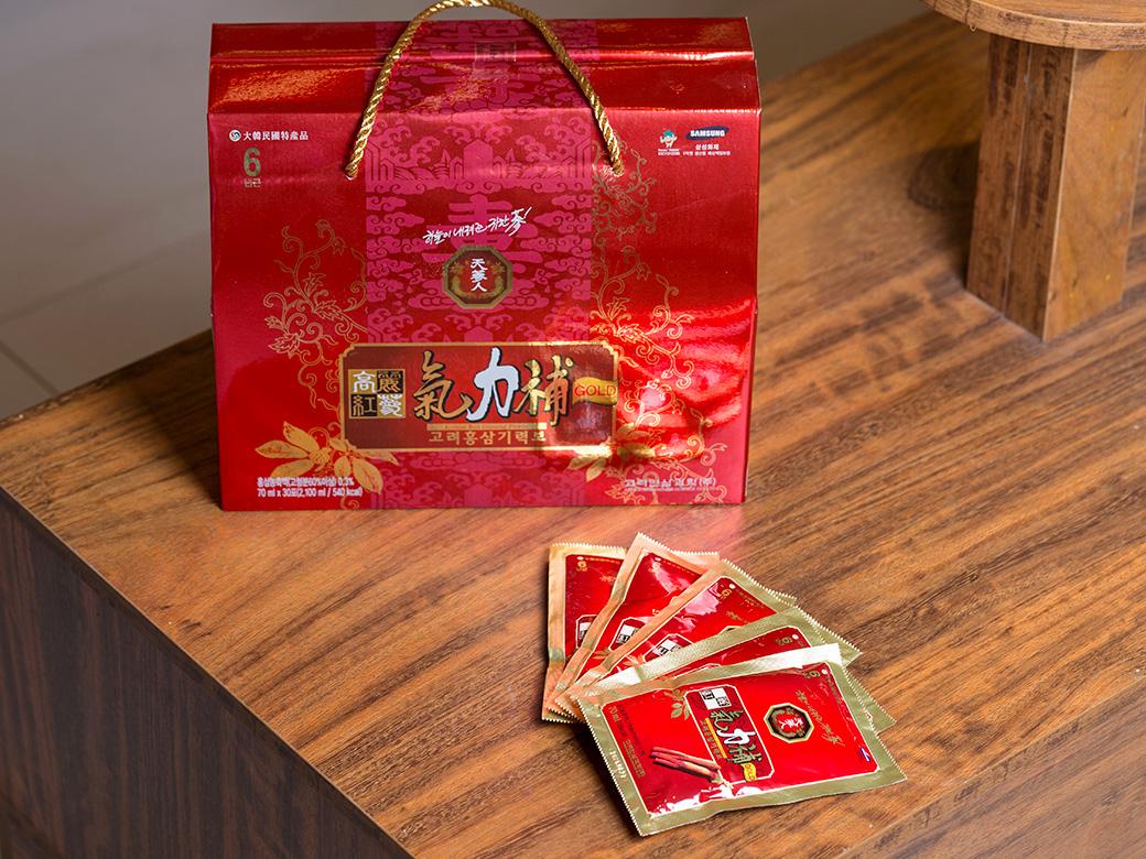 Tinh chất hồng sâm 6 năm tuổi 70ml x 30 gói Hàn Quốc